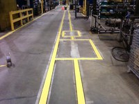 Safety Floor Markings by XNC Contractors in Cambridge, ON N1R 5R1